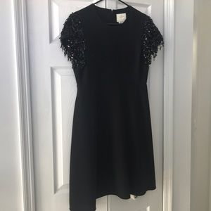 Black Kate Spade Sequin Dress